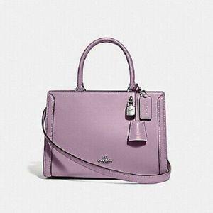 Coach Small Zoe Jasmine Lilac Carryall Bag